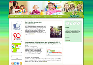 Website Kid's Garden